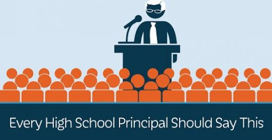 Video: Prager U on what every high school principal should say by Howard Portnoy