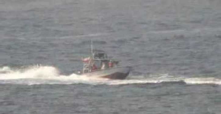 Iranian patrol boats harass destroyer USS Nitze