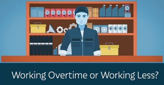 Video: Working overtime or working less? by LU Staff