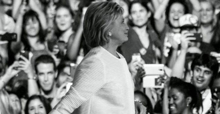 You just can't make this stuff up: Here's who Hillary asked to make her convention bio video