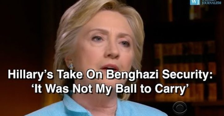 Unfit and unaccountable: Hillary says the one thing a commander-in-chief doesn't get to say