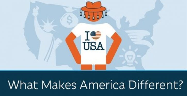 Video: Prager U asks what makes America different