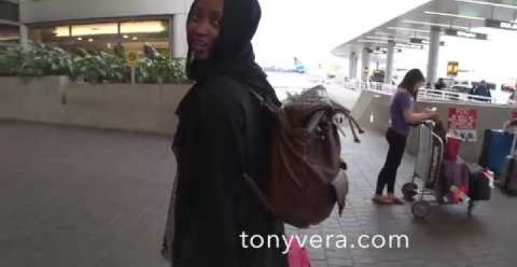 Muslim woman at LAX threatens to bomb America, then walks unhindered into terminal