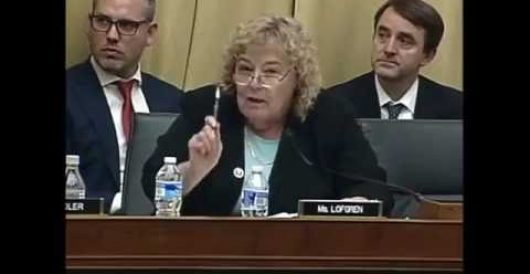 Congresswoman loses it in rant against witness in transgender debate by Rusty Weiss