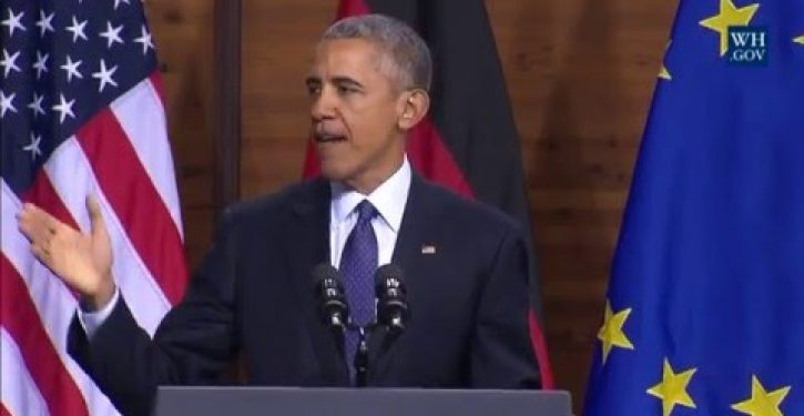 Obama: 'We are living in the most peaceful era in human history'