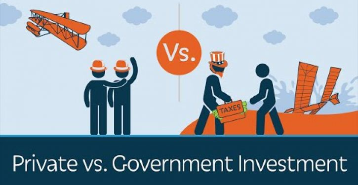 Video: Prager U on why private investment beats government every time