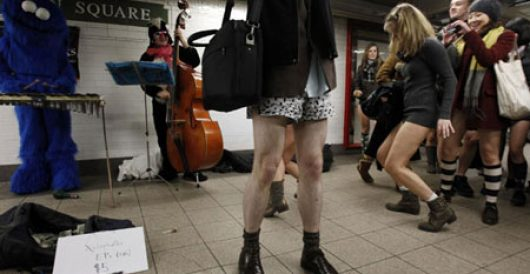 After man goes for pants-less stroll, town seeks to amend nudity law by Howard Portnoy