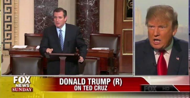 Takes one to know one? Trump calls Cruz 'a bit of a maniac'