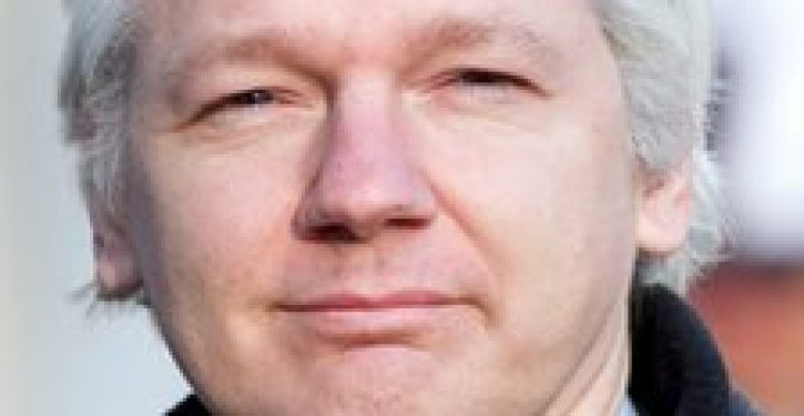 Assange: Freedom of expression for me, but not for Ecuadorians…while he hides at the Ecuadorian embassy