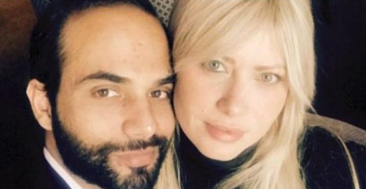 Papadopoulos told the Feds he received $10,000 from a foreign national he believed was a spy