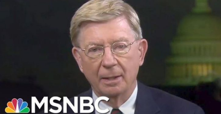 George Will: 'Most Americans sad, embarrassed, exhausted' by Trump