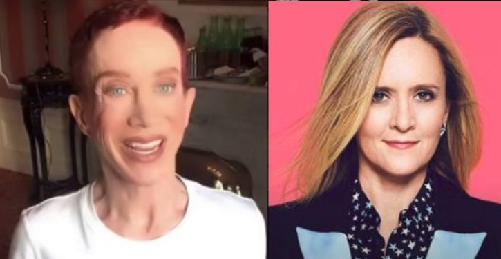 Nearly 3 weeks after Samantha Bee fiasco, pathetic Kathy Griffin repeats her insult almost verbatim