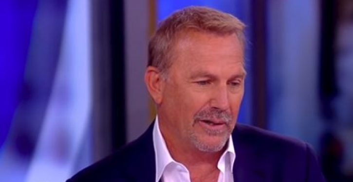 Kevin Costner says he is having trouble 'recognizing America right now'