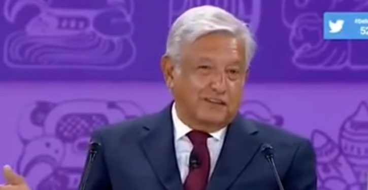 Mexico's leading presidential candidate: All world's migrants have 'human right' to seek life in U.S.