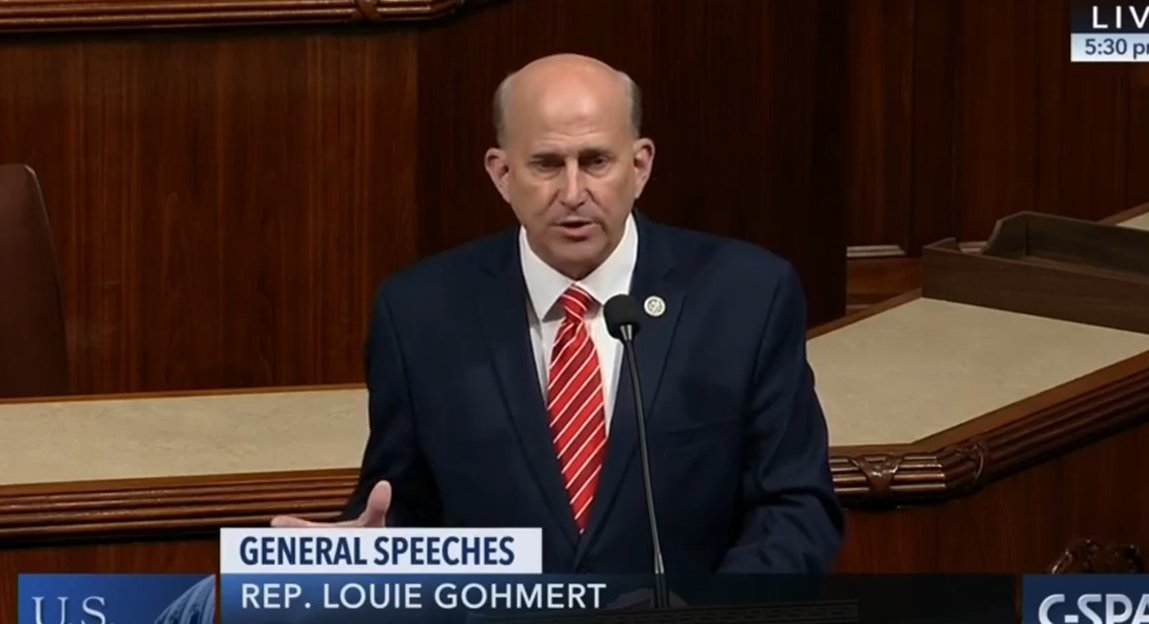 Rep. Louie Gohmert names alleged Trump whistleblower during impeachment hearing
