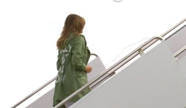 Melania's dream (make that 'nightmare') coat: What in the world was she thinking? by Howard Portnoy
