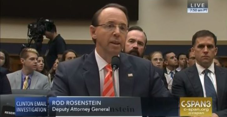 Rosenstein, DOJ eyeing measures to make spying on journalists easier