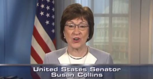 Soap opera actress refuses to recognize Susan Collins as a woman any longer by Ben Bowles