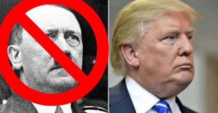 Nazi comparison: The shoe is on the wrong foot