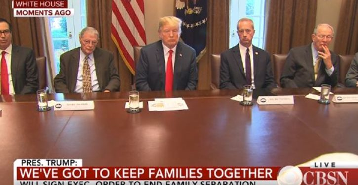 Trump cries 'Uncle,' ends zero tolerance policy that resulted in family separations