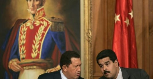 Venezuela: Oh, peachy, now the Obama admin's cozying up to Maduro by Fausta Wertz
