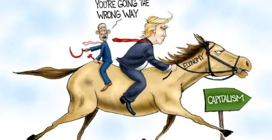 Cartoon of the Day: The right way is right by A. F. Branco