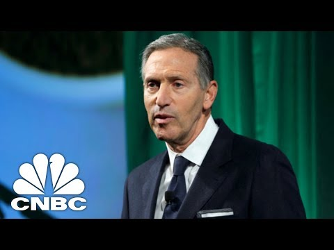 Starbucks's Howard Schultz contemplates running for president as independent in 2020