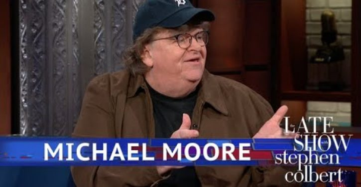 Michael Moore says he'll move to Canada if new film leads to trouble