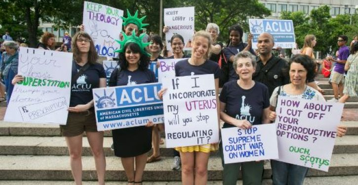 The ACLU admits it no longer supports the Constitution (if it ever did)