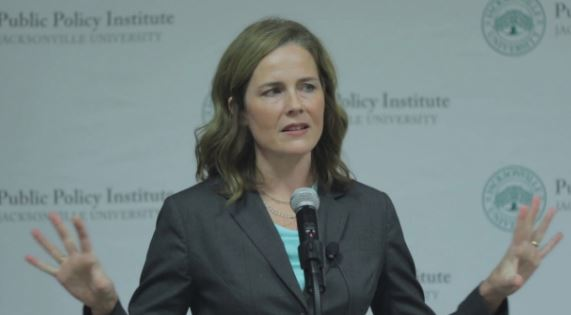 What Amy Coney Barrett DIDN'T say in 2016 about confirming justices in an election year