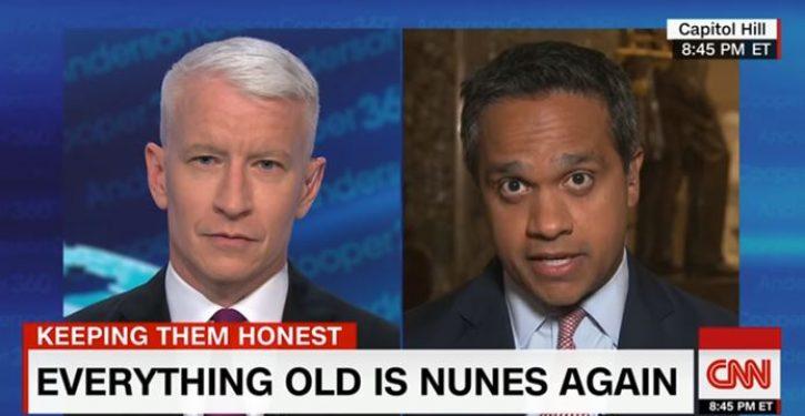 CNN butt-hurt again after Devin Nunes slams them as 'Democratic Party propaganda'