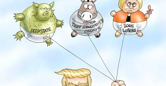 Cartoon of the Day: We got your hot air balloons by A. F. Branco