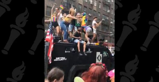 Gun group detained by NYPD, had property confiscated for minor citation at Pride parade by Daily Caller News Foundation