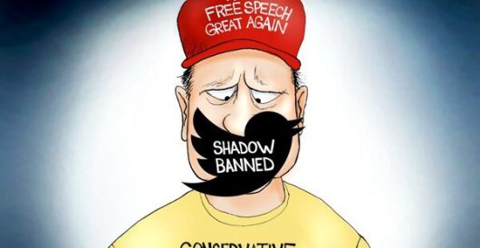 Cartoon of the Day: Me and my shadow (ban) by A. F. Branco
