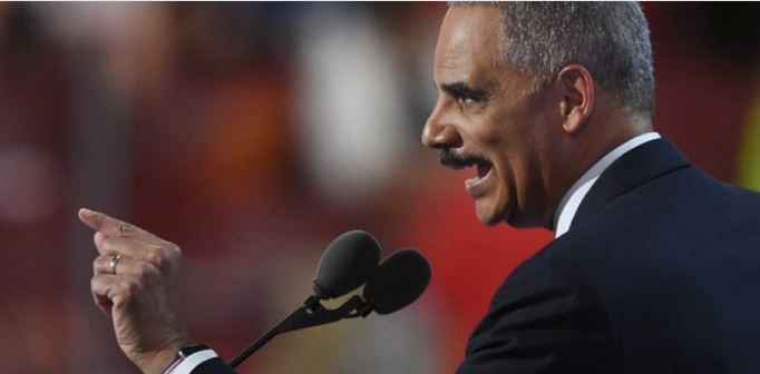 It's come to this: Even Eric Holder warns Democrats that 'borders mean something'