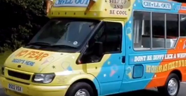Oops: Record high temp in Scotland caused by heat from parked ice cream truck's generator