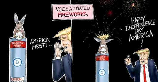 Cartoon of the Day: Fired up by A. F. Branco