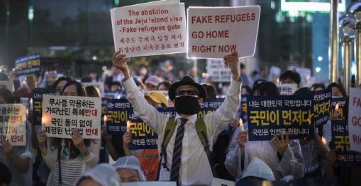 Protests in South Korea against Muslim refugees: We don't want to become like Europe