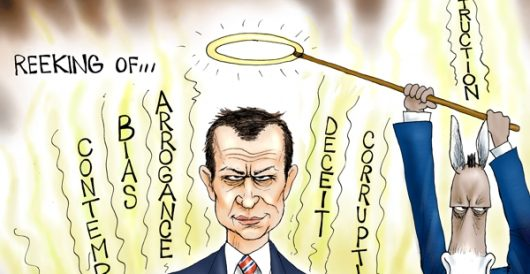 Cartoon of the Day: Strzok out by A. F. Branco
