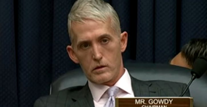 Trey Gowdy rules out impeachment effort against Deputy AG Rod Rosenstein