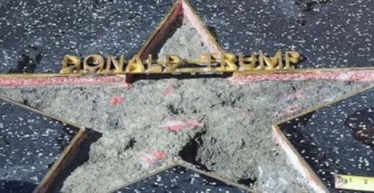 Why the push to remove Trump's star from the Hollywood Walk of Fame is no laughing matter by Ben Bowles