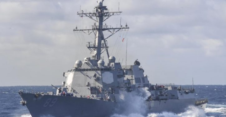Freedom of navigation: Two U.S. destroyers make passage through Taiwan Strait