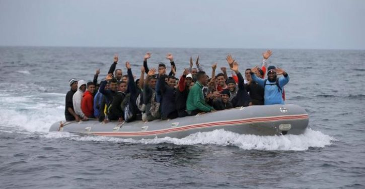Boatload of illegal African migrants storms Spanish nude beach, evades capture