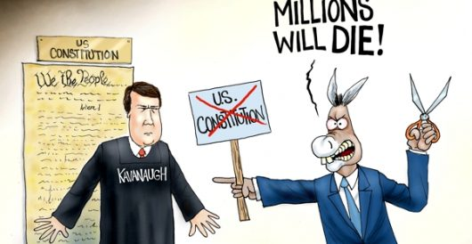 Cartoon of the Day: Crying wolf, again by A. F. Branco