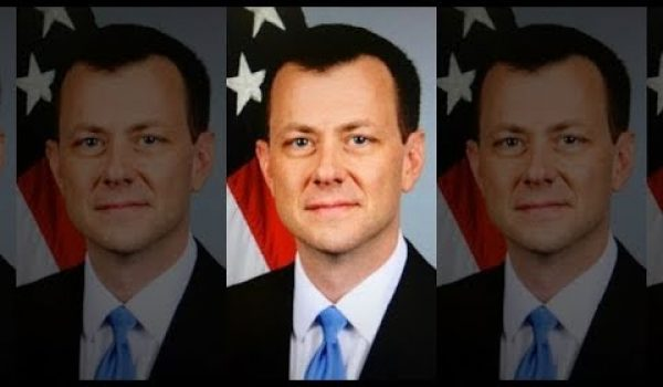 Peter Strzok reacts to his firing on newly minted Twitter account by Daily Caller News Foundation
