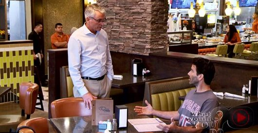 ABC's show about people getting hassled in restaurants has a curious twist by Howard Portnoy