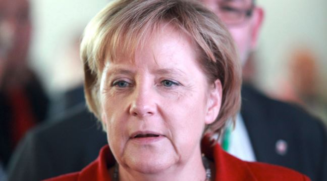 Merkel: EU defense means dropping NATO-era barriers to cross-border industrial cooperation