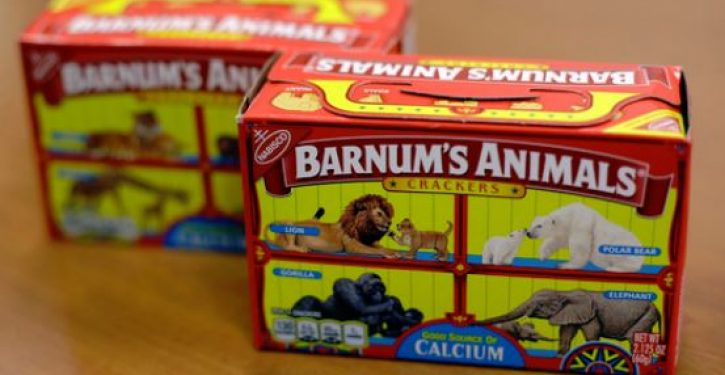 Nabisco's animal crackers now uncaged after PETA called for box redesign