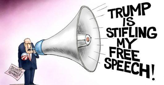 Cartoon of the Day: Can you hear me now? by A. F. Branco