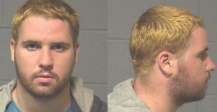 Man who attacked police with brick 'because they shoot black people' charged with hate crime